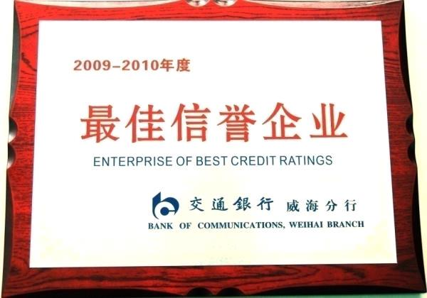 2009-2010 annual best credit enterprise